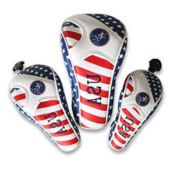 Craftsman Golf Stars and Stripes Flag Headcover Driver Head