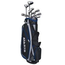 Strata Plus 16-Piece Men's Golf Club Set