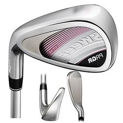 PRGR Sweep Iron Set 2017 Women Right 7-PW, AW, SW PRGR M-30