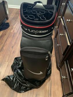 Tiger Woods Rare Nike Golf Clubs Irons And Bag Right Handed