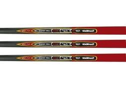 Tour Made Red REAX Nano 65 Gram Graphite Golf Iron Shafts .3