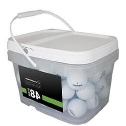 Bridgestone Tour Mix 48 Recycled Golf Balls, White