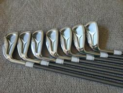 Raven Tour Spec Forged Irons and Spined Aerotech Steelfiber