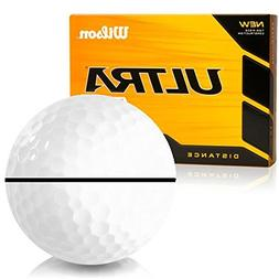 Wilson Ultra 500 Distance AlignXL Personalized Golf Balls