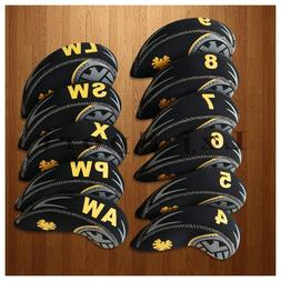 USA 11pcs 4-Lw&X Golf Iron wedge Headcovers Covers For Taylo
