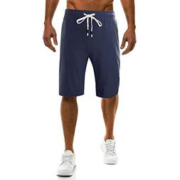 vermers Clearance Fashion Men's Shorts Summer New Drawstring
