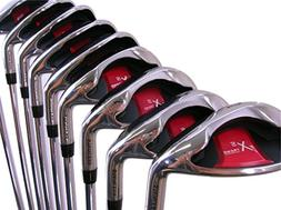 Extreme X5 Wide Sole iBRID Iron Set +2 inch Over XL Big & Ta