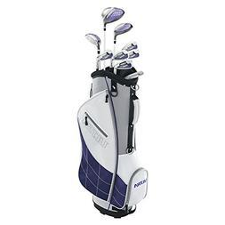 Wilson Golf Women's 2017 Ultra Package Set, Right Hand, Whit