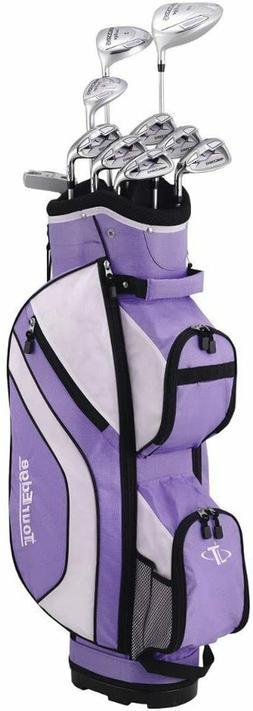 Tour Edge Women's Reaction 3 14-Piece Complete Golf Set