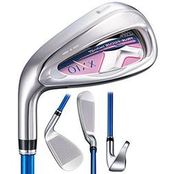 XXIO X Iron Set 2018 Women Right 5-PW, SW XXIO M1000 Ladies